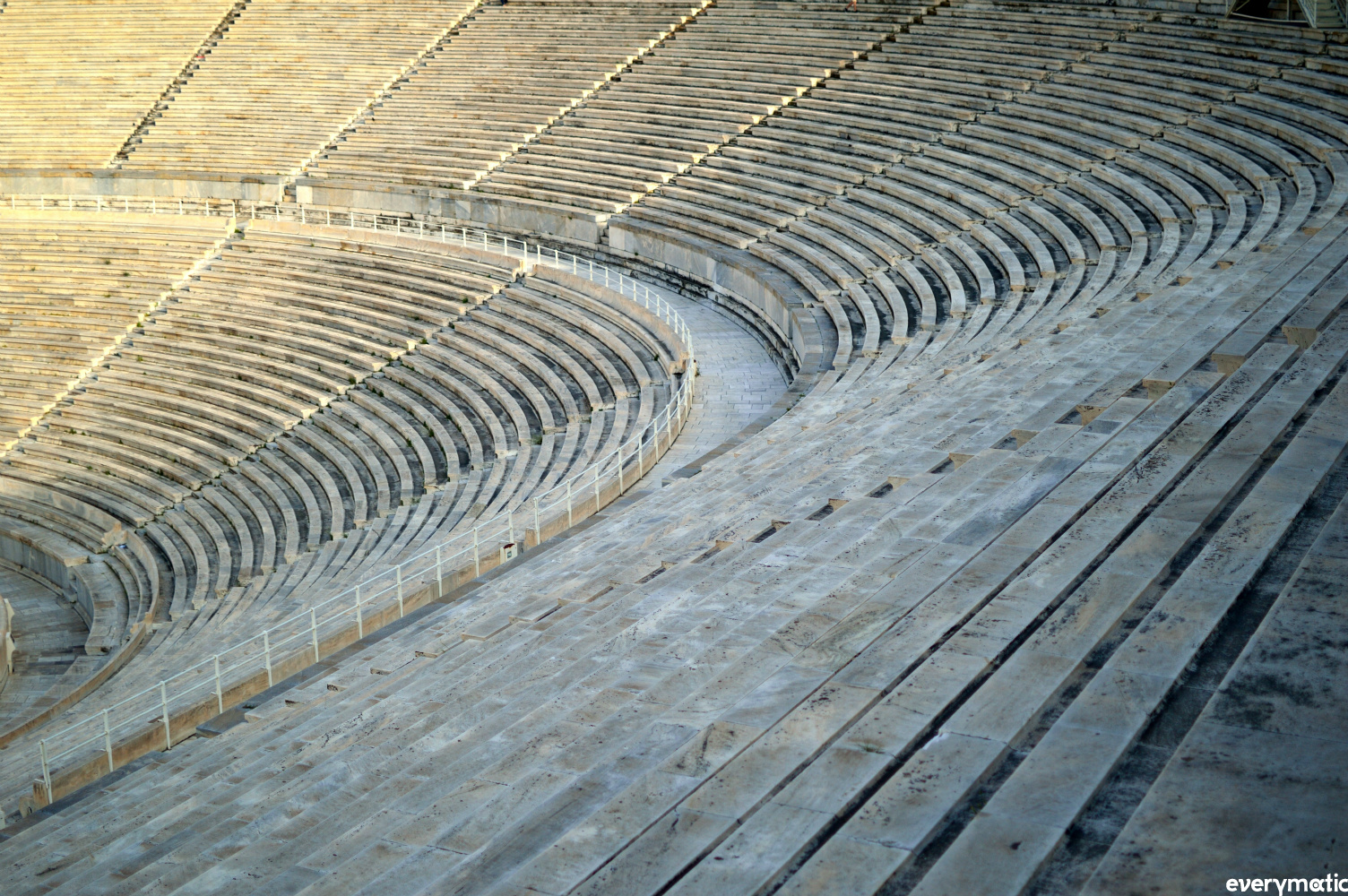 The Panathenaiko stadium in Athens, built to host the first Olympics of the modern era in 1896.