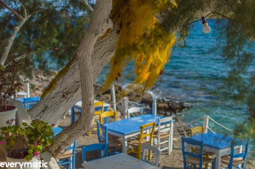 Rovinsonas taverna, Koutsouras, Crete.