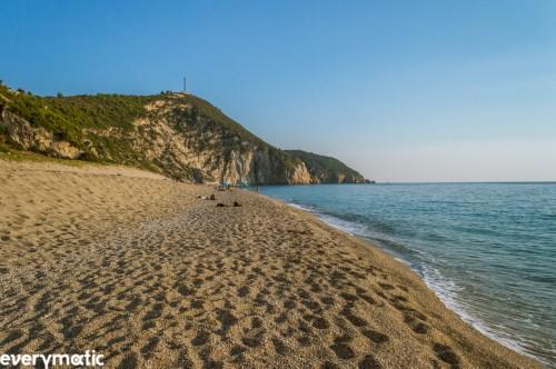 Milos beach, Lefkada.
