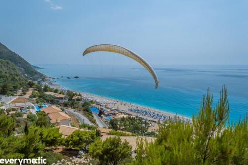 Parascending over Kathisma, Lefkada